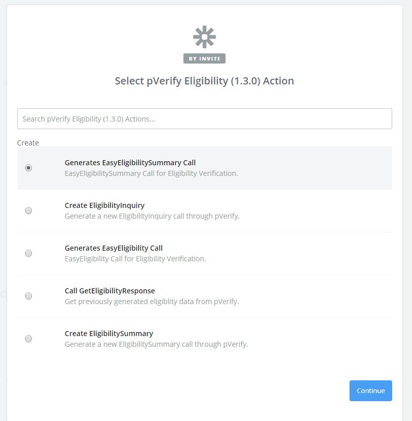 Zapier Eligibility Integration API